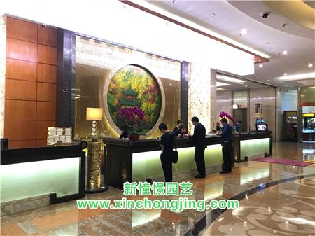 长沙酒店花卉租摆——-世纪金源大饭店
